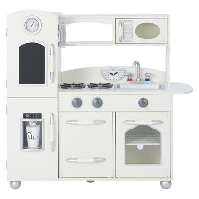 Set bucătărie Aviles pentru copii, alb