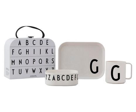 Set cadou litera G, 3 piese