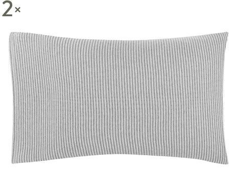 Set de 2 de fețe de pernă Calvin Klein gri / antracit, 50x75 cm chilipirul-zilei 2021