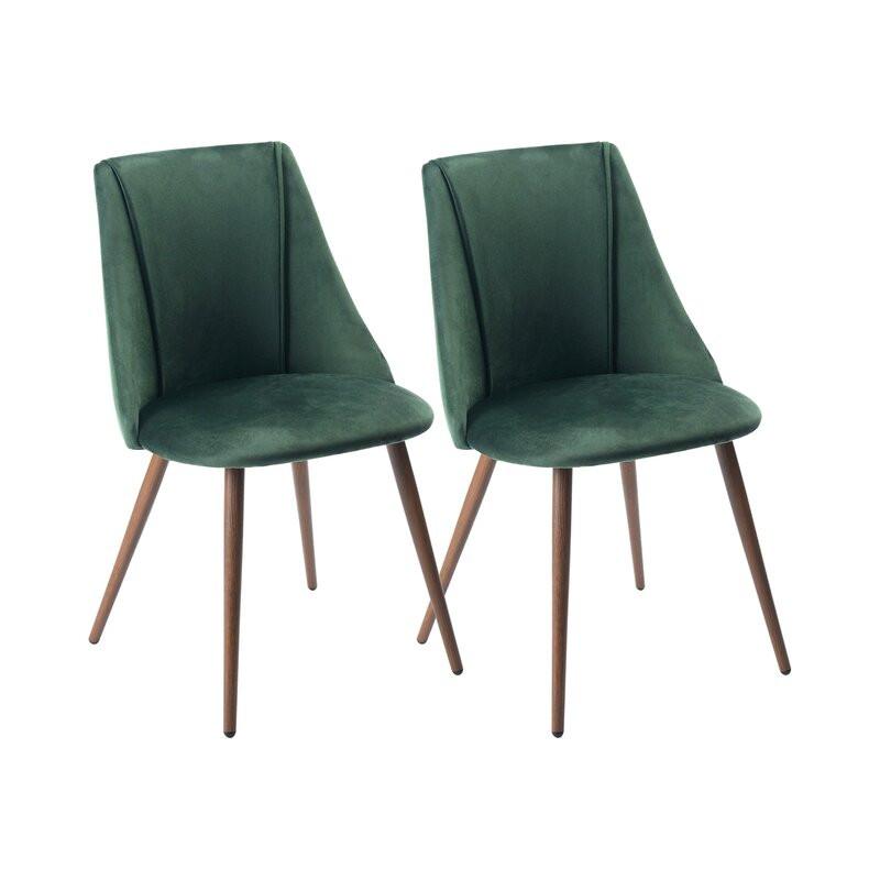 Set de 2 scaune Falmouth, verde, 83 x 45 cm 2021 chilipirul-zilei.ro