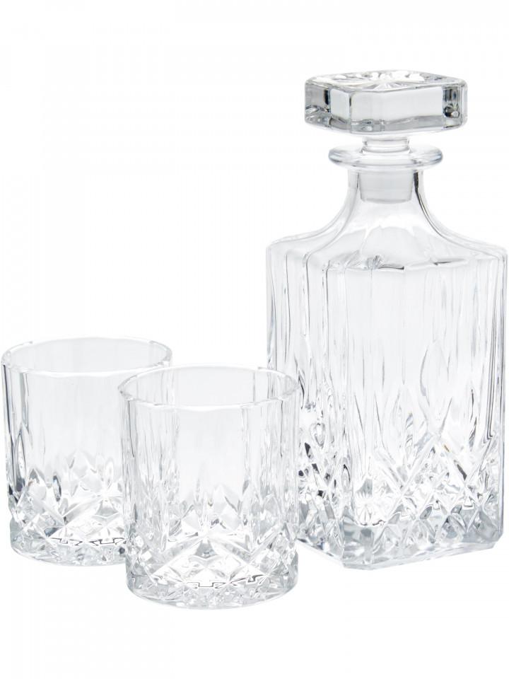 Set de whisky George, 3 piese, sticla imagine 2021 chilipirul zilei