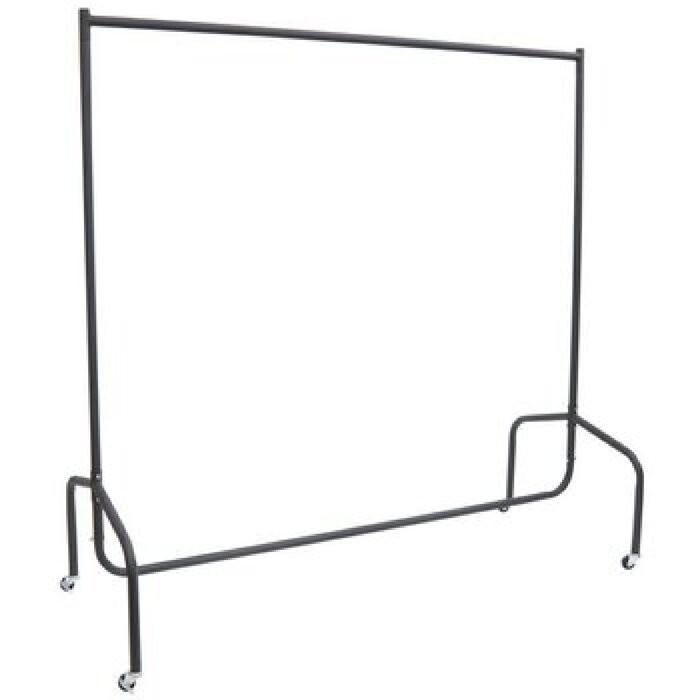 Sina pentru imbracaminte, metal, maro, 150 x 120 x 60 cm