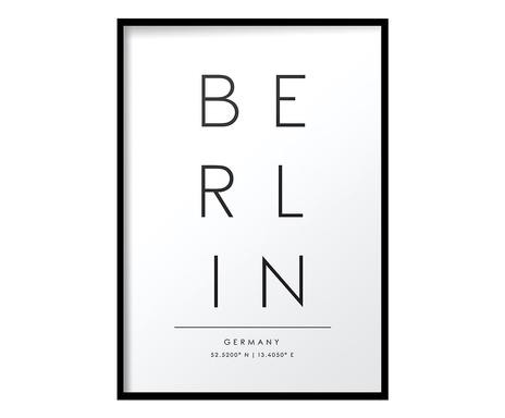 Tablou Berlin, 30x40 cm imagine chilipirul-zilei.ro