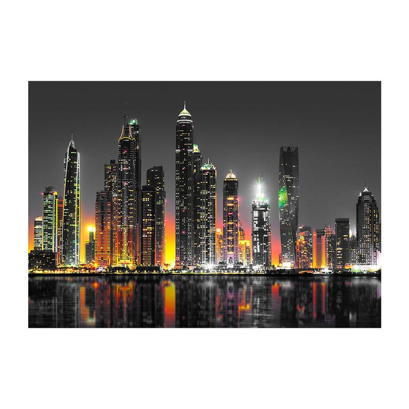 Tapet Desert City Dubai, 105 x 150 poza chilipirul-zilei.ro