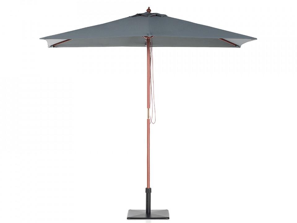 Umbrela patrata 1.44 x 1.95 m FLAMENCO, antracit