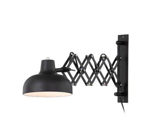 Aplica Triangel, metal, neagra, 60 x 15 x 28 cm imagine 2021 chilipirul zilei