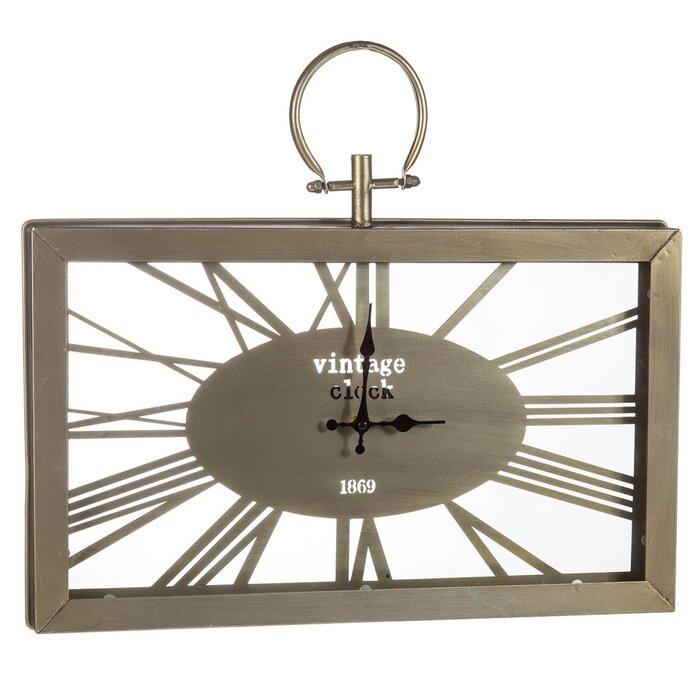 Ceas de perete Fiske, 51 x 36,5 x 5 cm