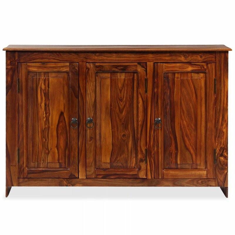 Comoda Sharen din lemn masiv, 115 x 75 cm