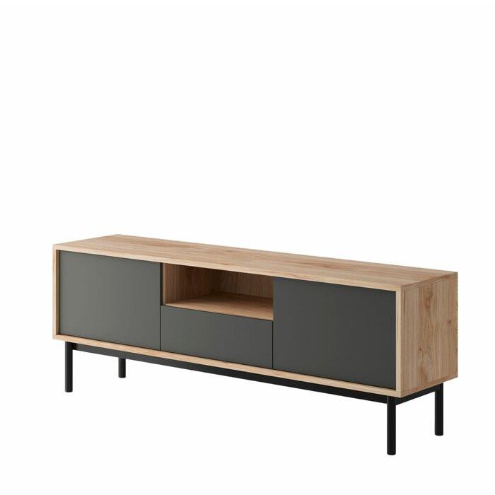 Comoda TV Cassidy, lemn, 154 x 57 x 39 cm imagine 2021 chilipirul zilei