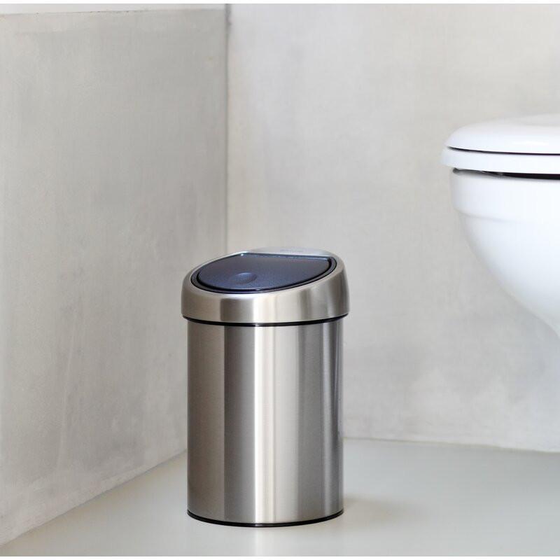Coș de gunoi din oțel inoxidabil, 3L imagine chilipirul-zilei.ro