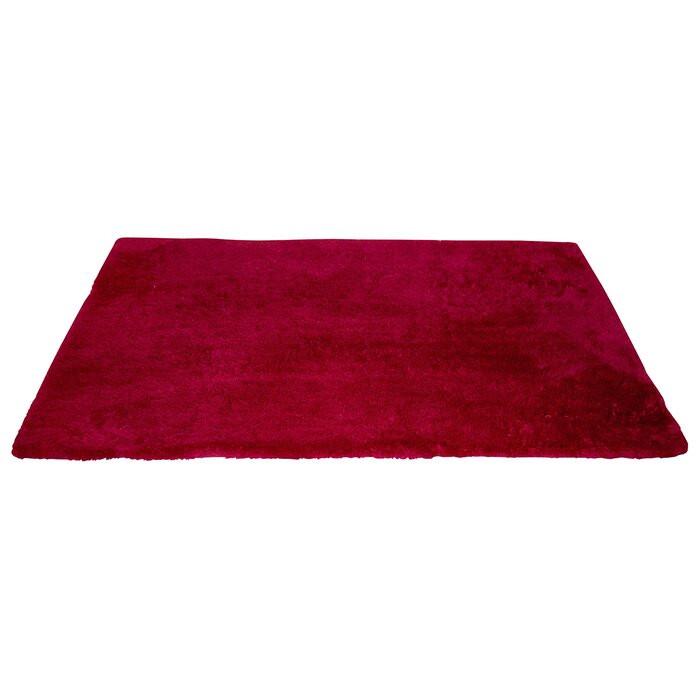 Covor baie Siena, rosu, 55 x 65 cm poza chilipirul-zilei.ro