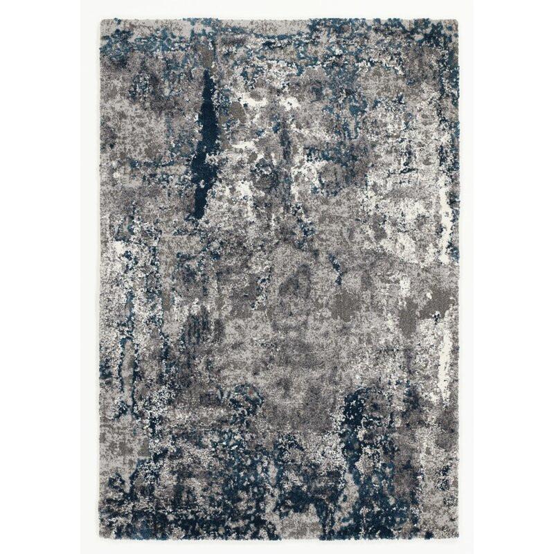 Covor Glossop albastru / gri, 140 x 200cm imagine chilipirul-zilei.ro