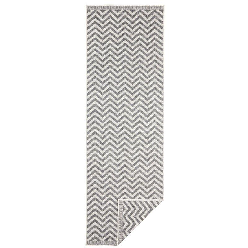 Covor Palma Woven gri, 80 cm x 350 cm poza chilipirul-zilei.ro