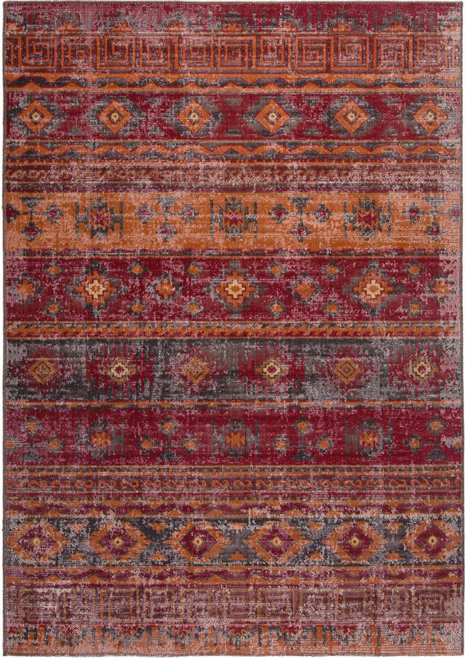 Covor Tilas Istanbul, rosu/galben, 80 x 150 cm imagine 2021 chilipirul zilei