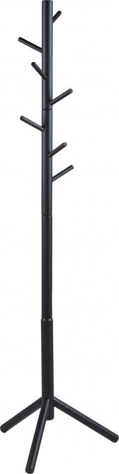 Cuier Bremen, negru, 51 x 176 x 45 cm poza chilipirul-zilei.ro