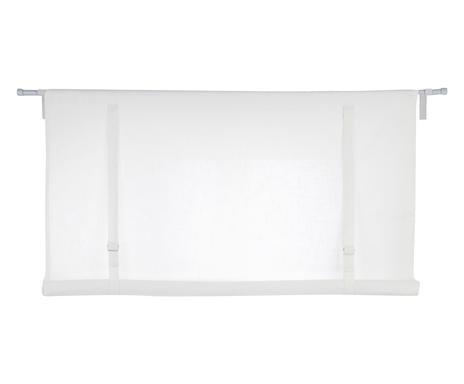 Jaluzea Orgryte albă, 90x120 cm