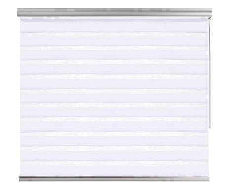 Jaluzea rulantă Premium alba, 100x250 cm
