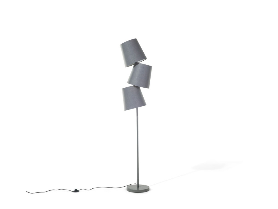 Lampadar RIO GRANDE, gri, 164 X 24 cm poza chilipirul-zilei.ro