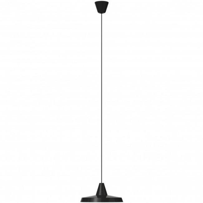 Lustra tip pendul Anniversary, metal, neagra, 35 x 16 cm