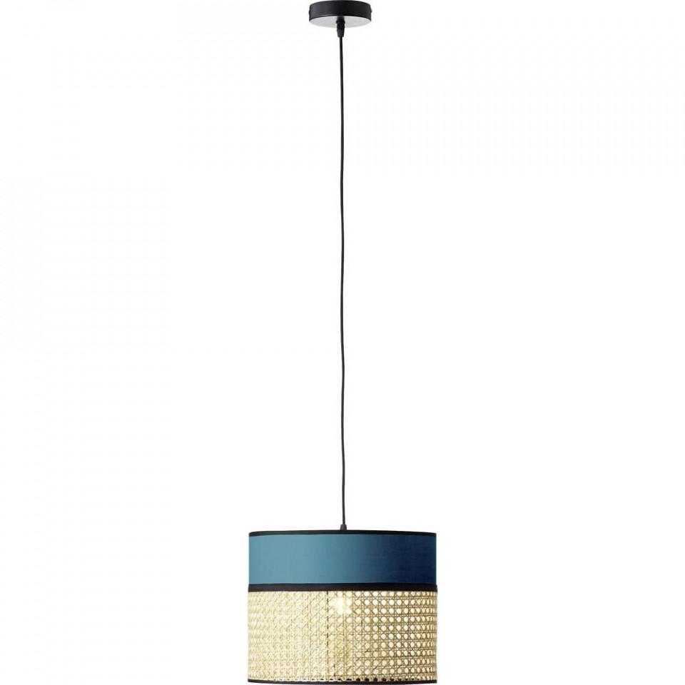 Lustra tippendul Dayanara, metal/lemn, 30 x 174 x 30 cm, 60w imagine