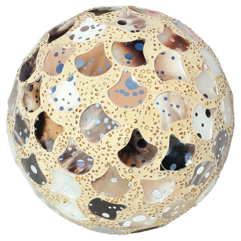 Obiect decorativ Balls, galben poza chilipirul-zilei.ro