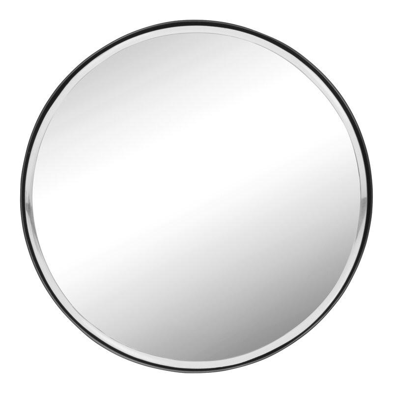 Oglindă Christin cu cadru din metal, 36 x 36 cm 2021 chilipirul-zilei.ro