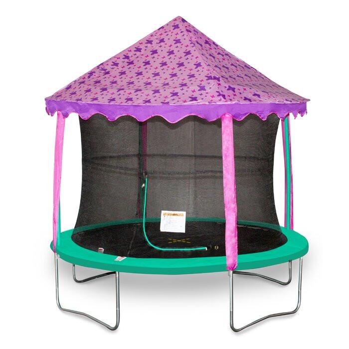 Pavilion trambulina, roz/violet poza chilipirul-zilei.ro