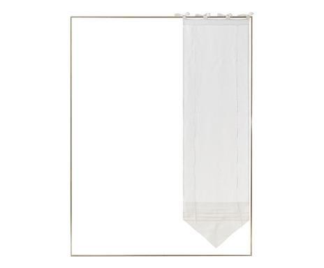 Perdea Florence,60x240 cm, alba