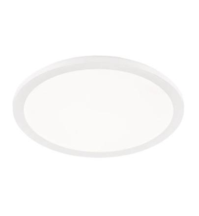 Plafoniera Camillus VII, LED, plastic, alb, 40 x 40 x 3 cm