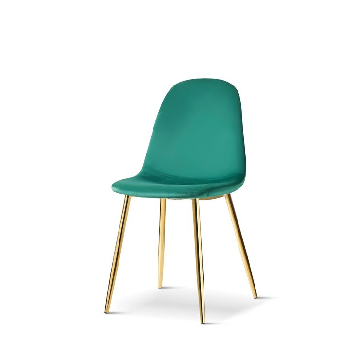 Set de 4 scaune Gaviota, verde, 88 x 53 x 44 cm