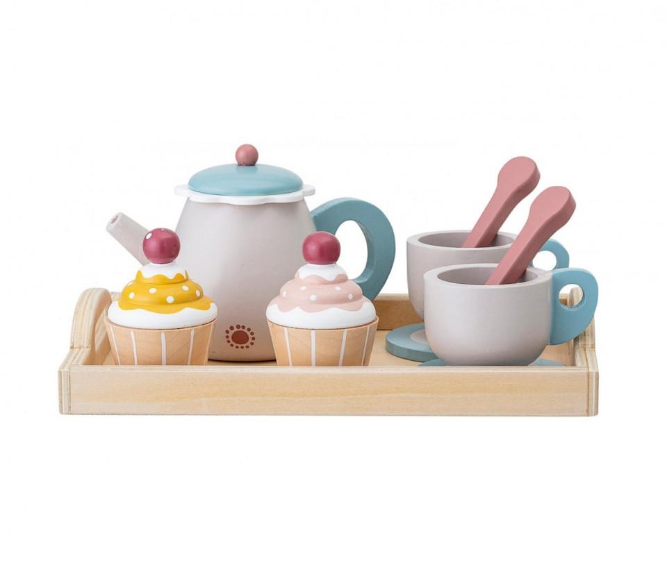 Set de ceai pentru copii, 13 piese, multicolor, 21 x 10 x 16 cm chilipirul-zilei.ro