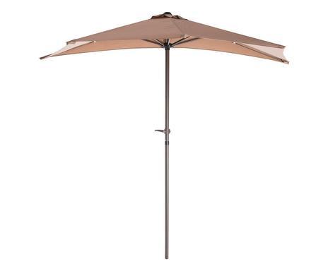 Umbrela de balcon taupe, 240x250 cm poza chilipirul-zilei.ro