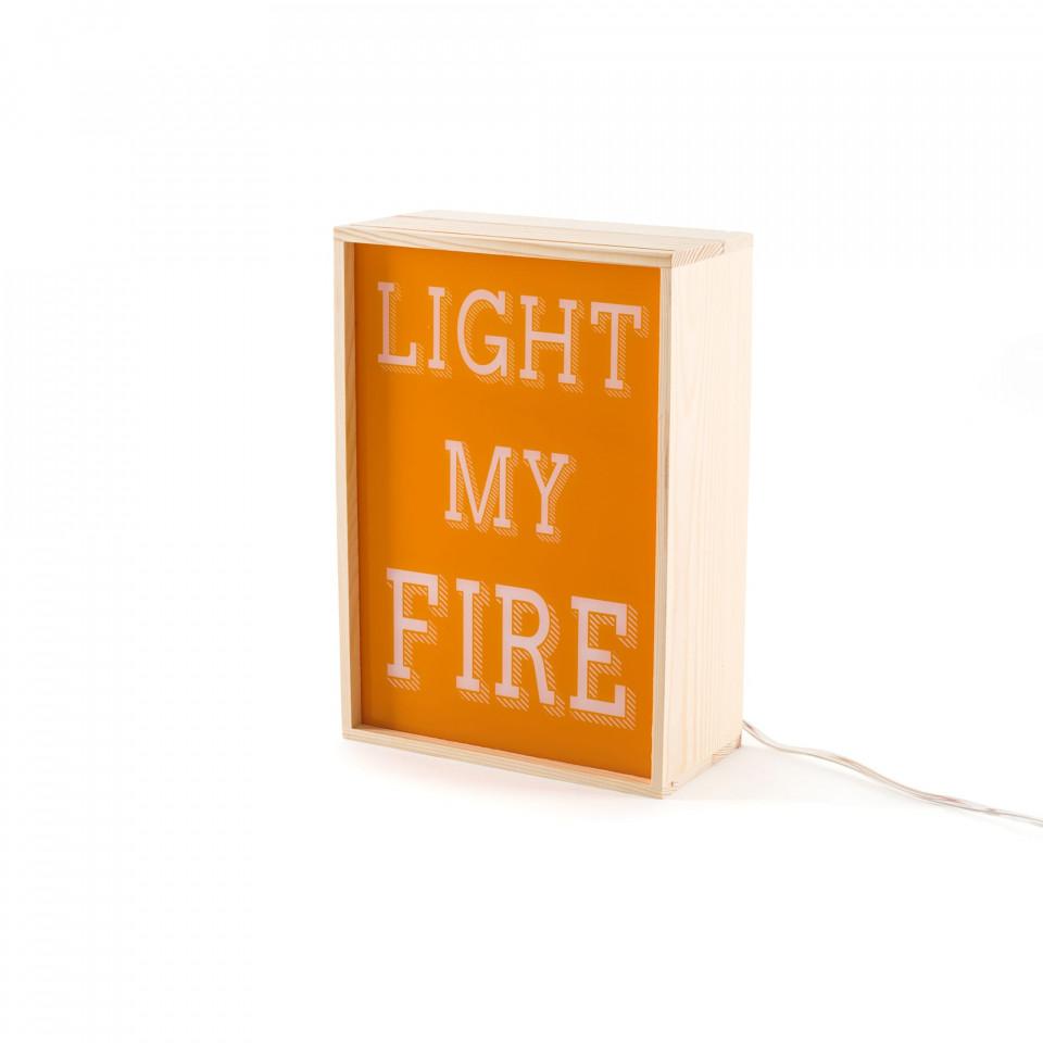 Veioză Lighting Box, LIGHT MY FIRE
