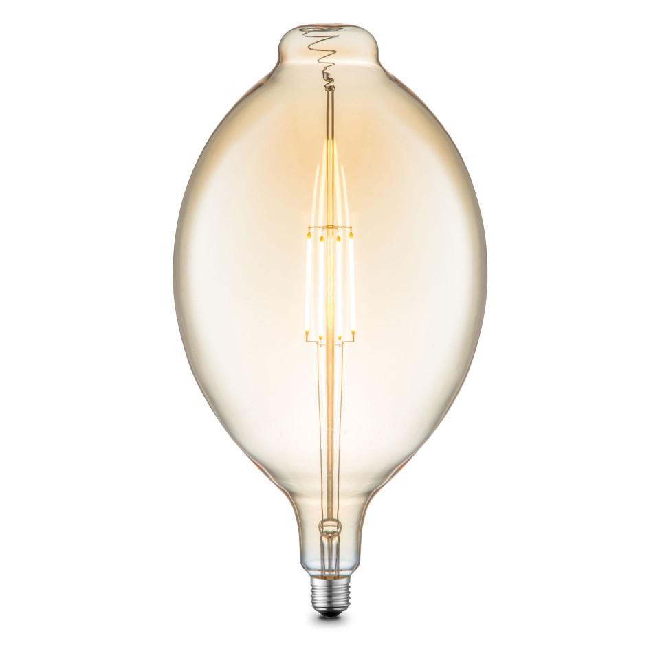 Bec DIY II, LED, metal/sticla, 18 x 33 x 18 cm, 4w 2021 chilipirul-zilei.ro