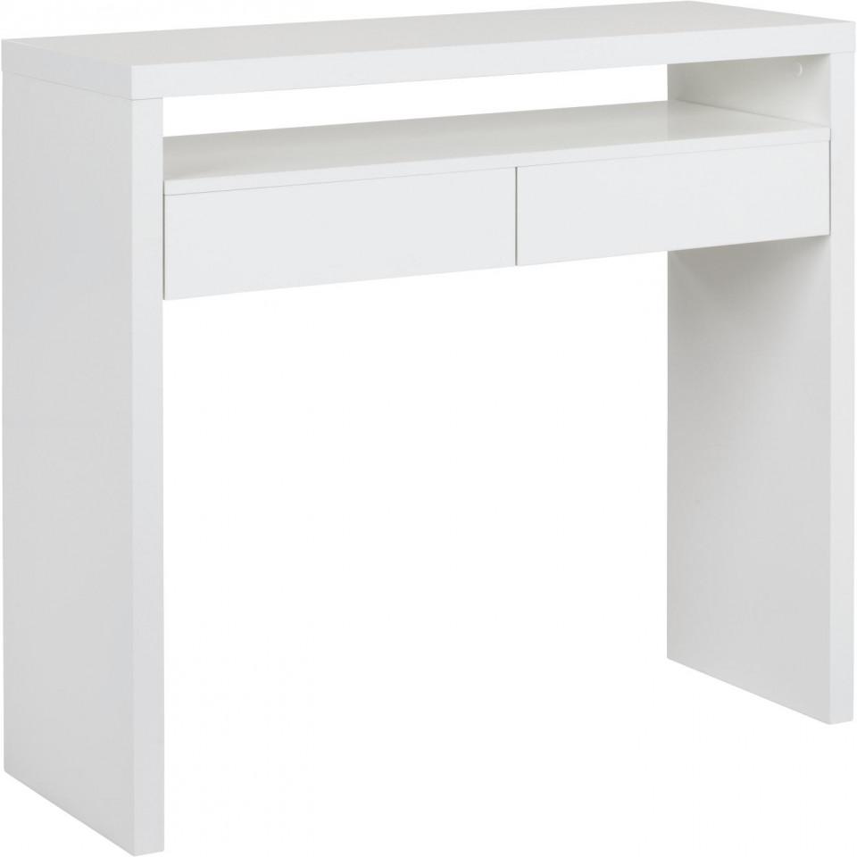 Birou Teresa, alb, 100 x 88 x 70 cm imagine 2021 chilipirul zilei