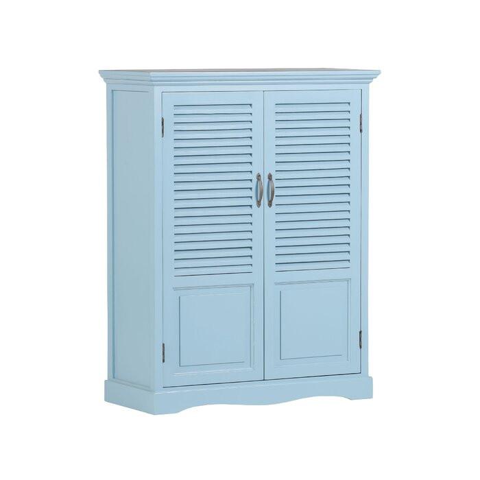 Bufet Tristen, albastru, 110 x 86 x 39 cm chilipirul-zilei.ro