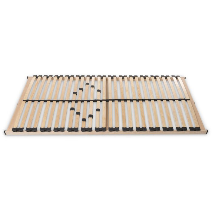 Cadru de pat cu lamele MAX 1 NV MZV, lemn, maro, 140 x 200 cm poza chilipirul-zilei.ro