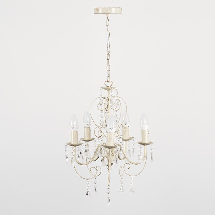 Candelabru Lille, cu 5 lumini, 52 x 40 x 40 cm