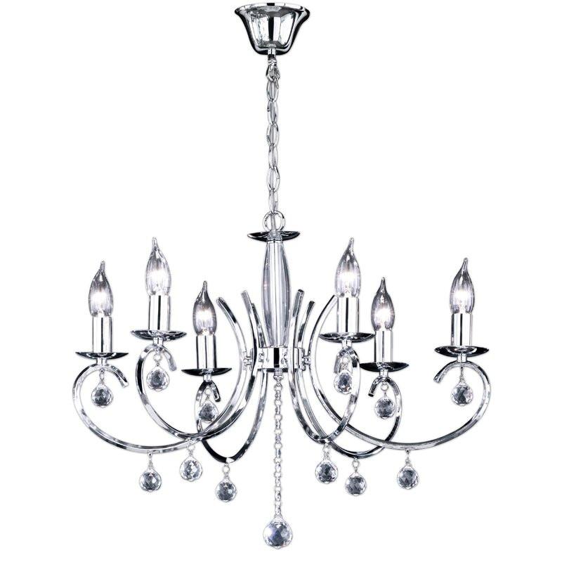 Candelabru Sala Silver, 62 x 45 cm