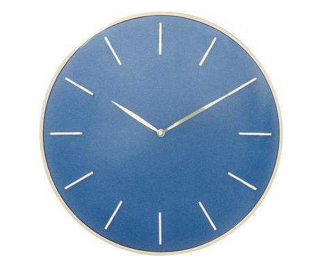 Ceas de perete Malibu albastru, 41cm 2021 chilipirul-zilei.ro
