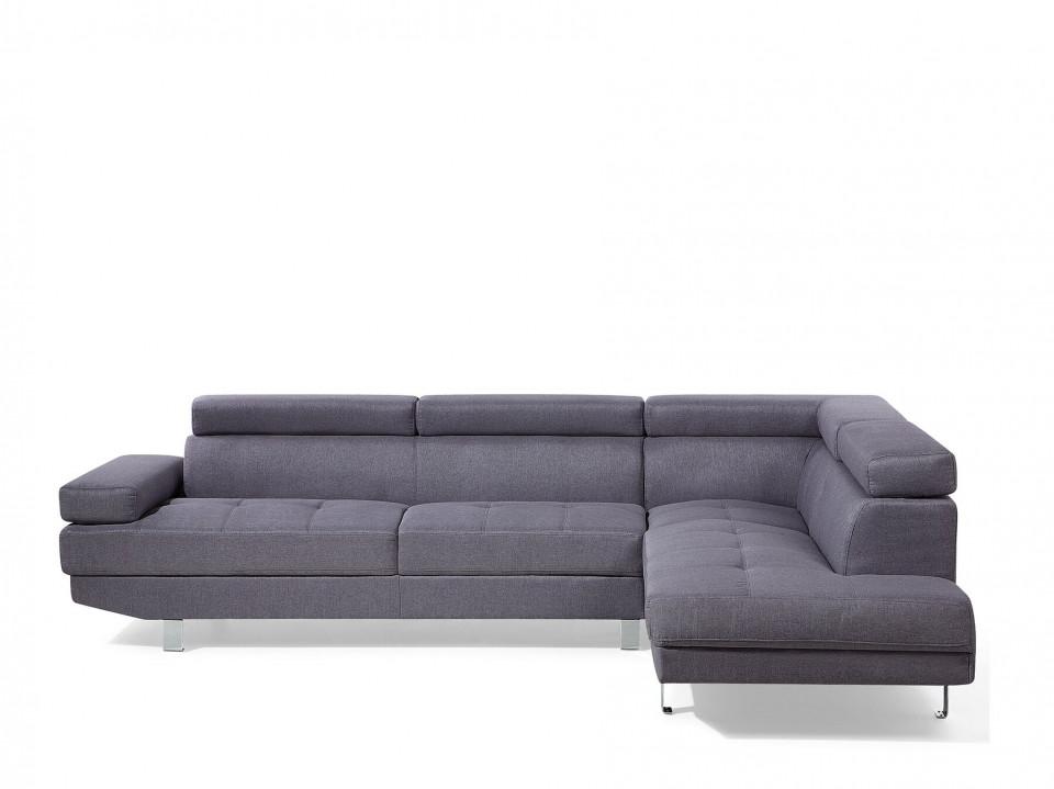 Coltar NORREA, textil, gri, 72 x 261 x 193 cm chilipirul-zilei 2021