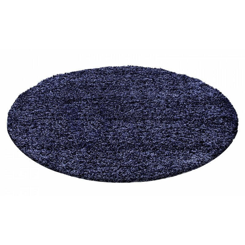 Covor Riam albastru închis, d. 120 cm poza chilipirul-zilei.ro