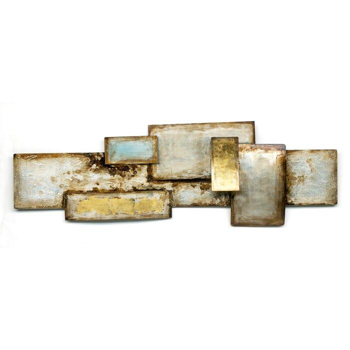 Decor de perete Metal World, metal, 40 x 120 cm