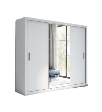 Dressing Terwilliger, alb, 215 x 250 x 60 cm poza chilipirul-zilei.ro