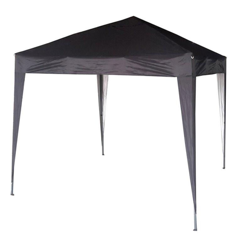 Foisor Janvey din aluminiu, negru, 2m x 2m poza chilipirul-zilei.ro