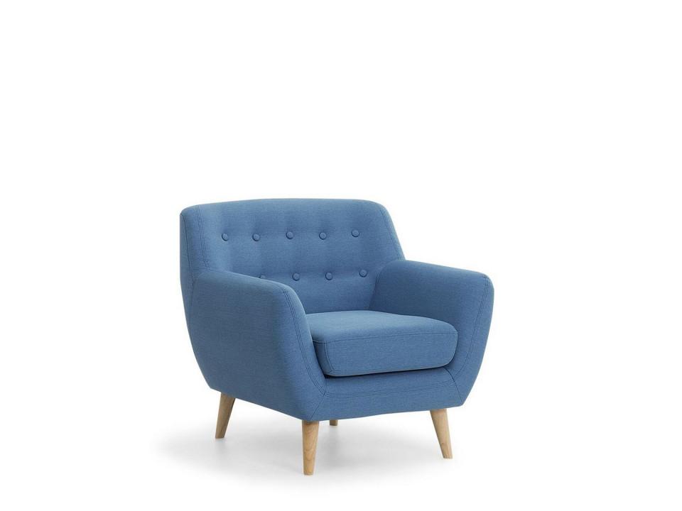 Fotoliu Motala, albastru, 77 x 80 x 76 cm chilipirul-zilei.ro