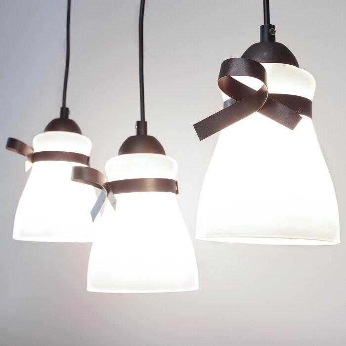 Lustră tip pendul Susex, cu 3 lumini, L 58 cm