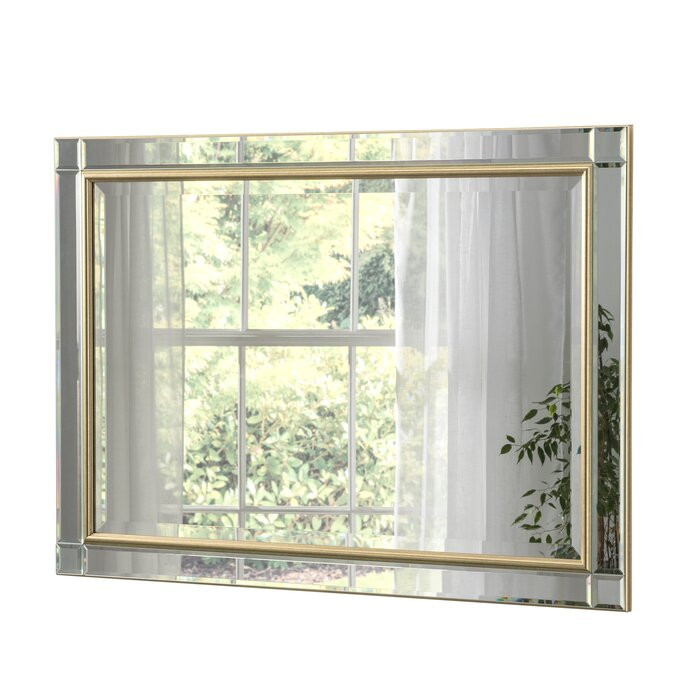 Oglinda Baker, 76 x 107 x 2,3 cm poza chilipirul-zilei.ro