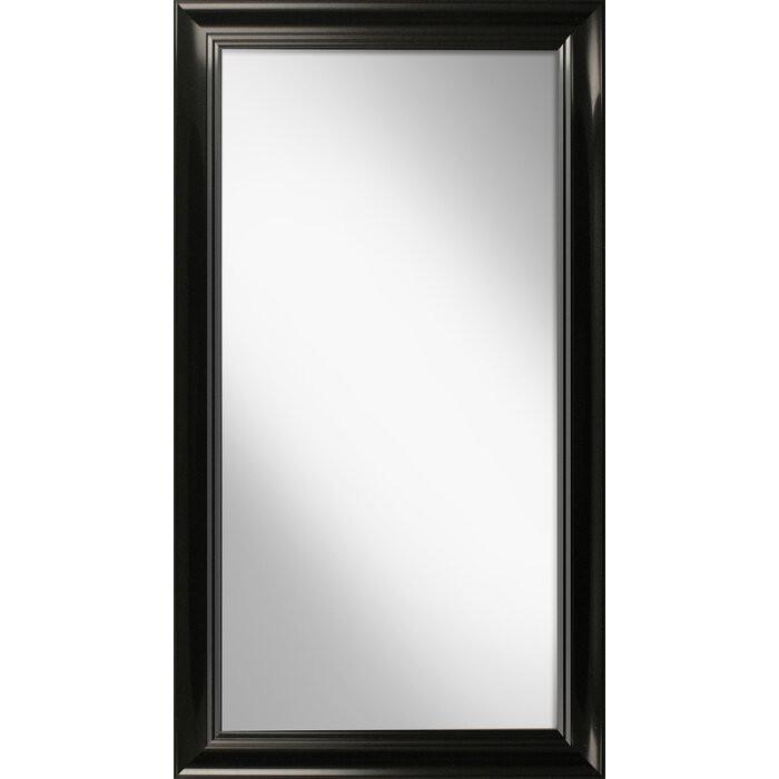 Oglindă Isaacs, plastic, neagra, 112 x 62 cm 2021 chilipirul-zilei.ro