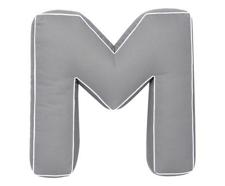 Pernă decorativă gri M, 40cm